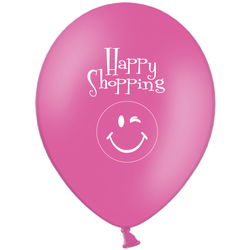 Ballong Brightfärger med tryck