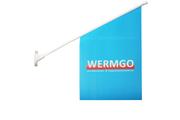 Butiksflagga med eget tryck