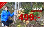 SKALJACKA & FLEECE PAKETPRIS