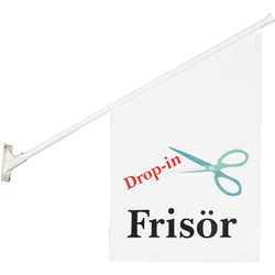 Frisörflagga Drop-In